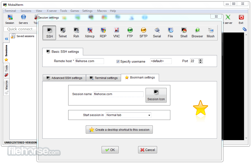 MobaXterm 20.3 Screenshot 2