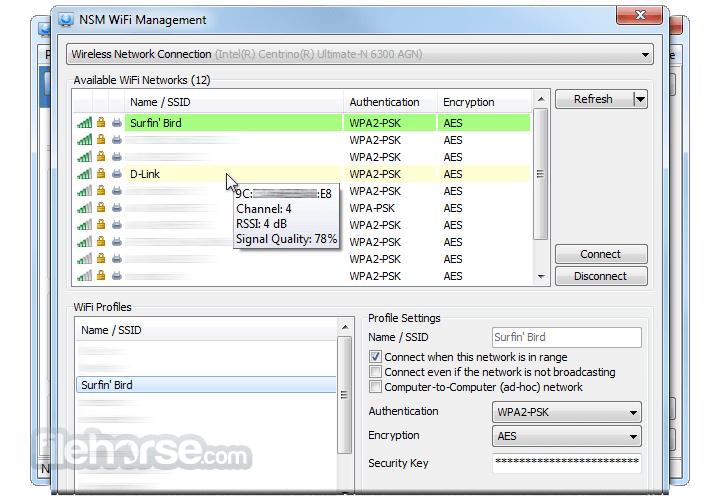 NetSetMan 4.7.2 Captura de Pantalla 3