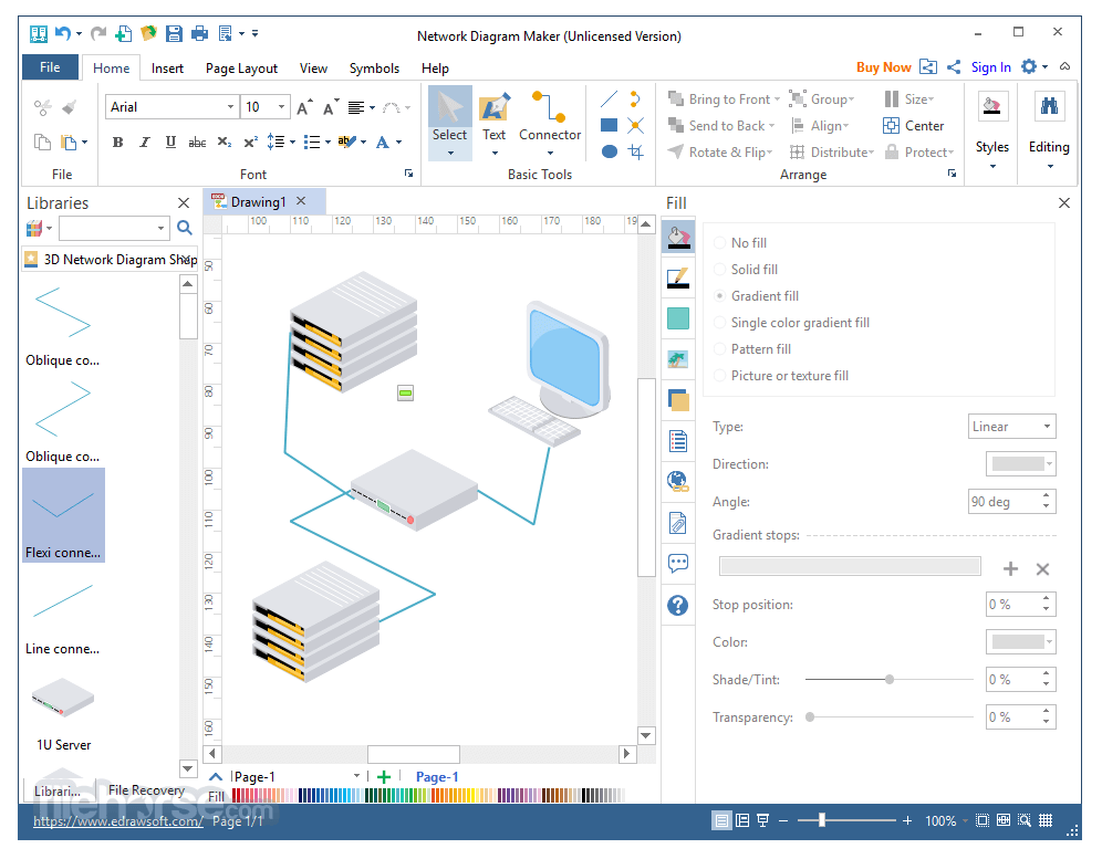 Network Diagram Maker Download  2020 Latest  For Windows