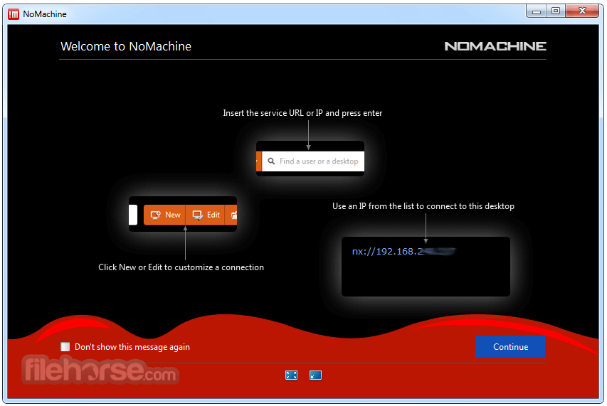 NoMachine 6.1.6 Screenshot 1
