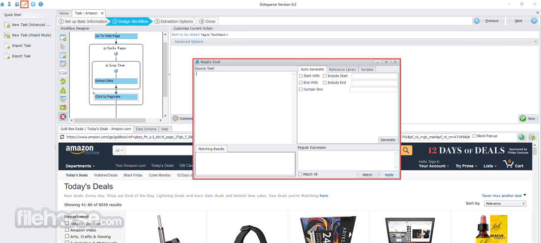 Octoparse 6.4.1 Screenshot 4