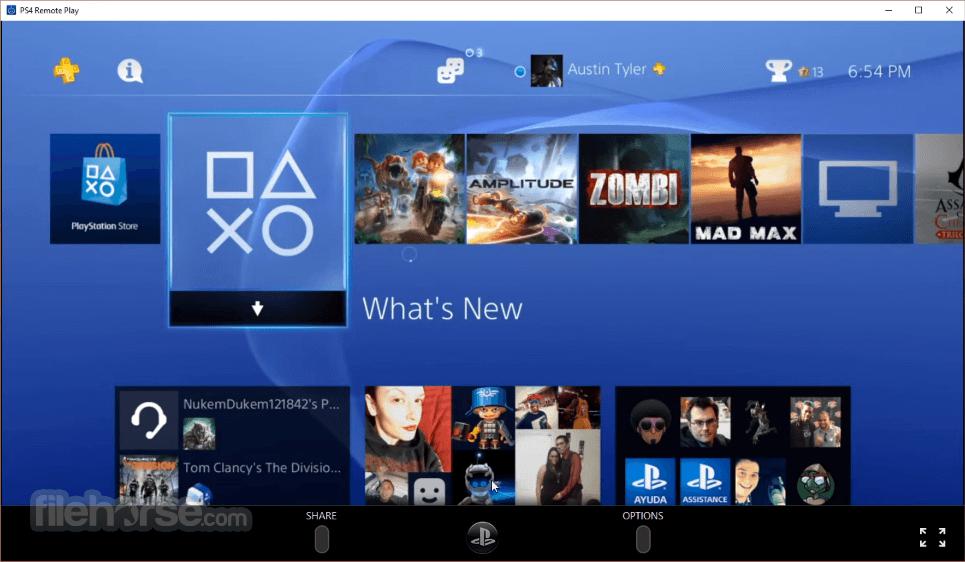 PS4 Remote Play 4.1.0.4020 Captura de Pantalla 1