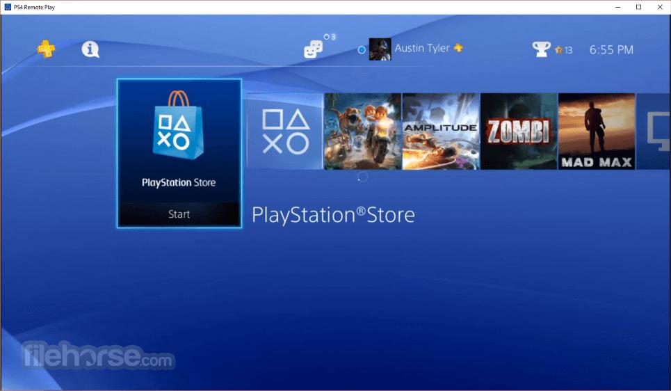 PS4 Remote Play 4.1.0.4020 Captura de Pantalla 2