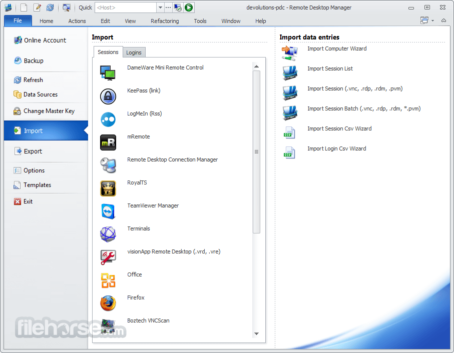 Remote Desktop Manager Enterprise 13.0.6.0 Captura de Pantalla 5