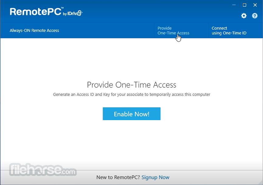 RemotePC 7.6.45 Captura de Pantalla 2