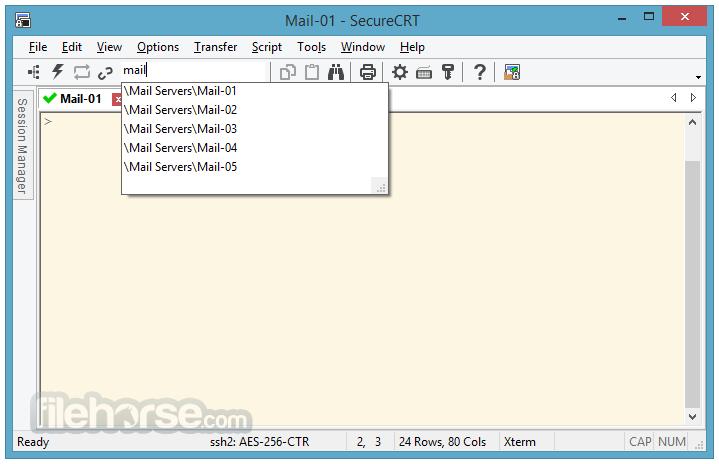 SecureCRT 9.0.2 Screenshot 3