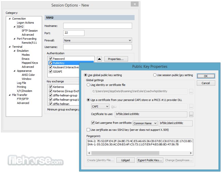 SecureCRT 9.0.2 Screenshot 4