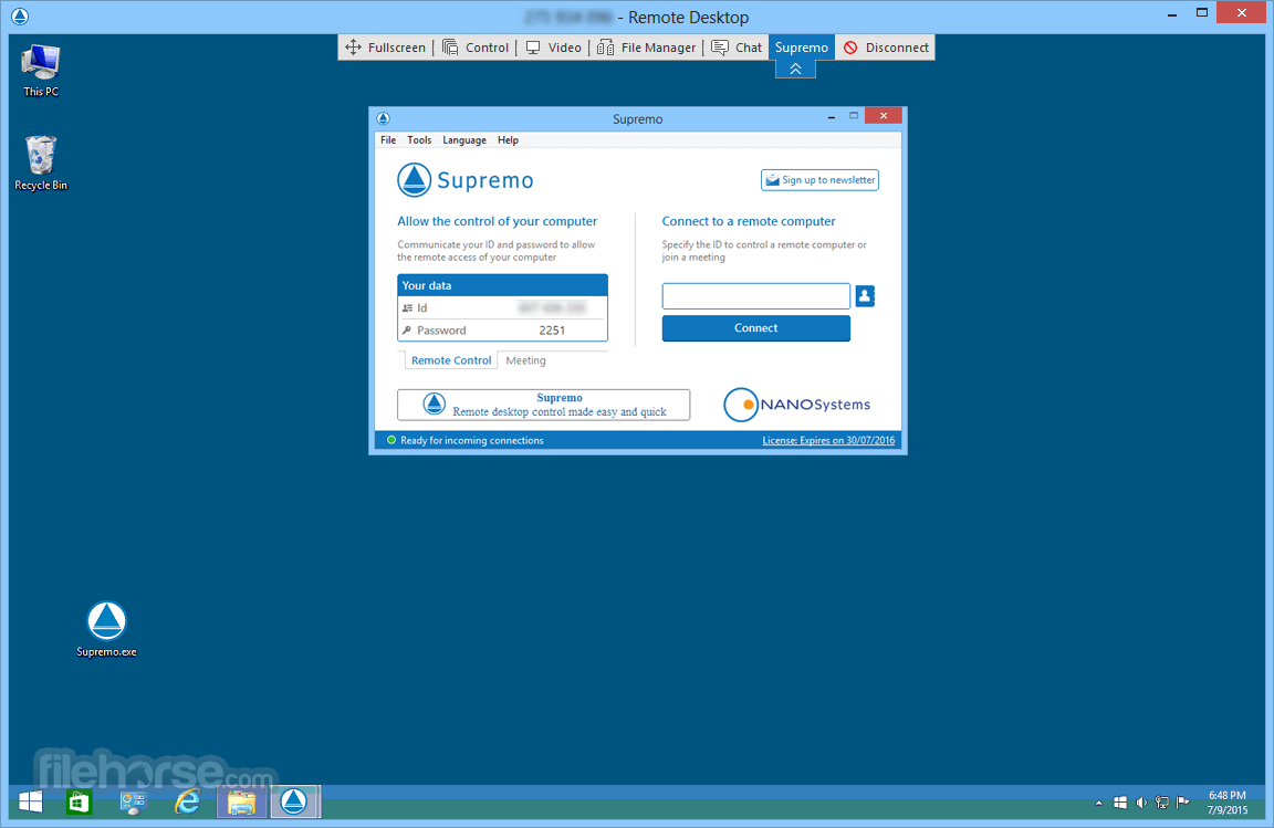 Supremo Remote Desktop 3.3.0.864 Captura de Pantalla 4