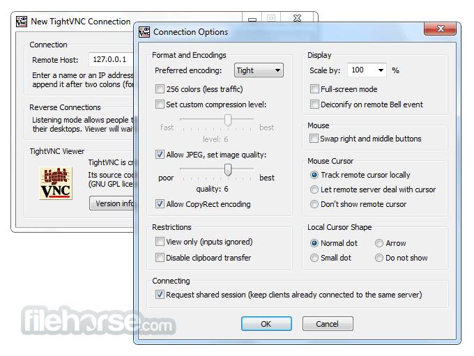 TightVNC 2.8.8 (32-bit) Screenshot 5