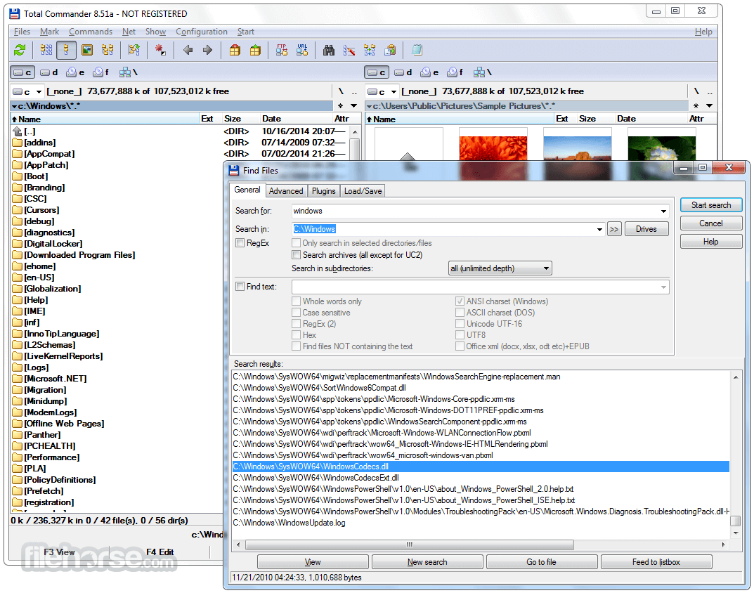 Total Commander 9.12 (32-bit) Screenshot 4