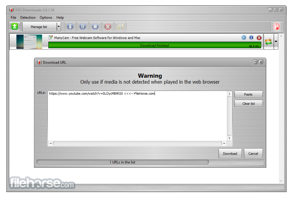 VSO Downloader 5.0.1.53 Captura de Pantalla 1