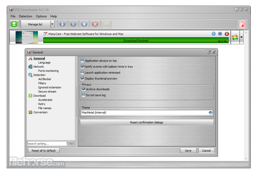 VSO Downloader 5.0.1.53 Captura de Pantalla 2