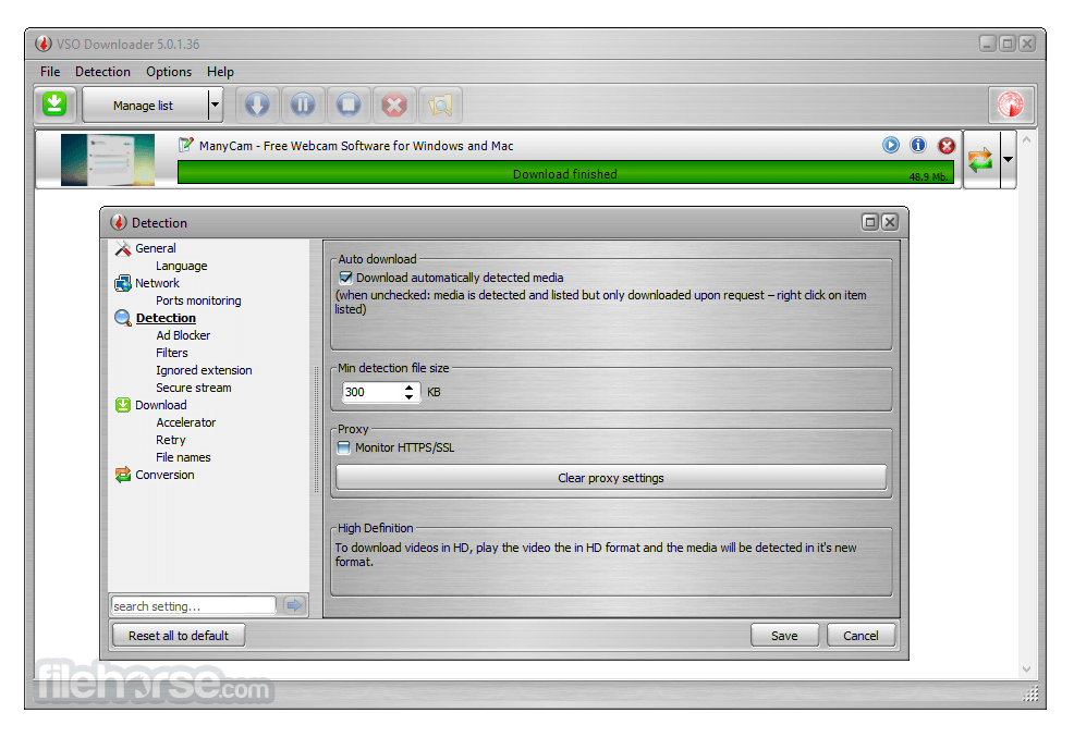 VSO Downloader 5.0.1.53 Captura de Pantalla 3