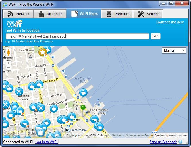 WeFi 4.0.1.0 Screenshot 3