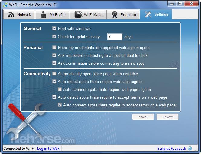 WeFi 4.0.1.0 Captura de Pantalla 5
