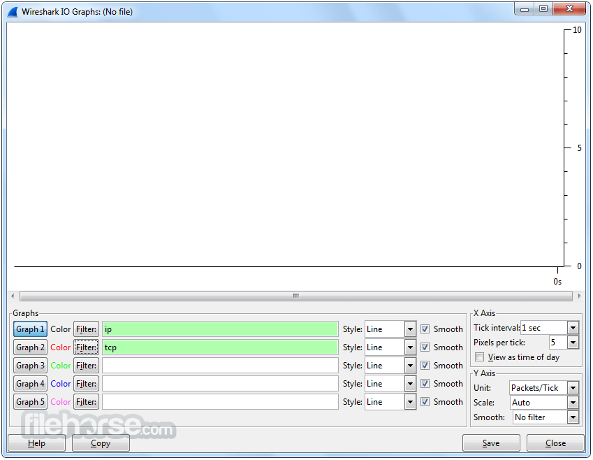 Wireshark 2.6.1 (32-bit) Captura de Pantalla 4