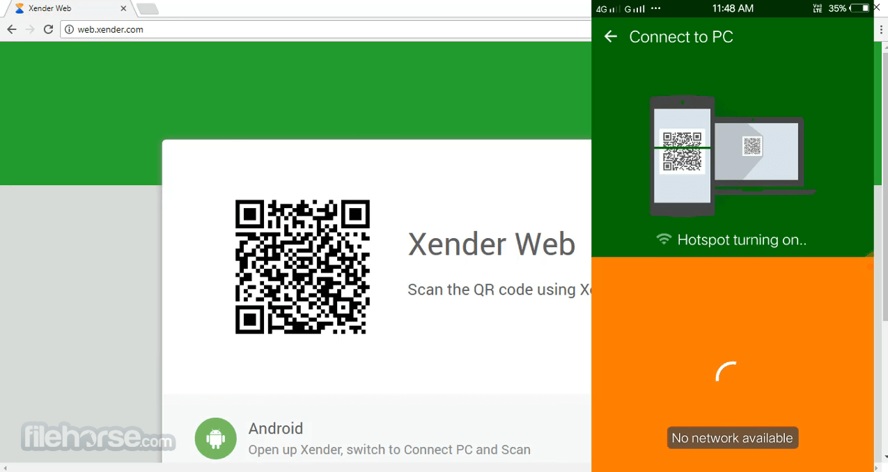 free download xender for windows 8.1 pc