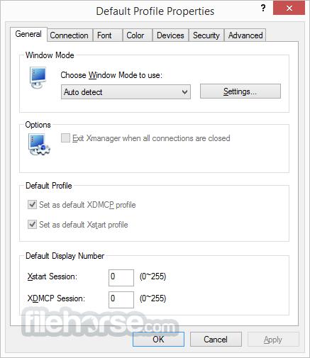 Xmanager 5.0 Build 1062 Captura de Pantalla 5