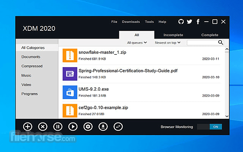 Xtreme Download Manager Xdm Download 2021 Latest For Windows 10 8 7