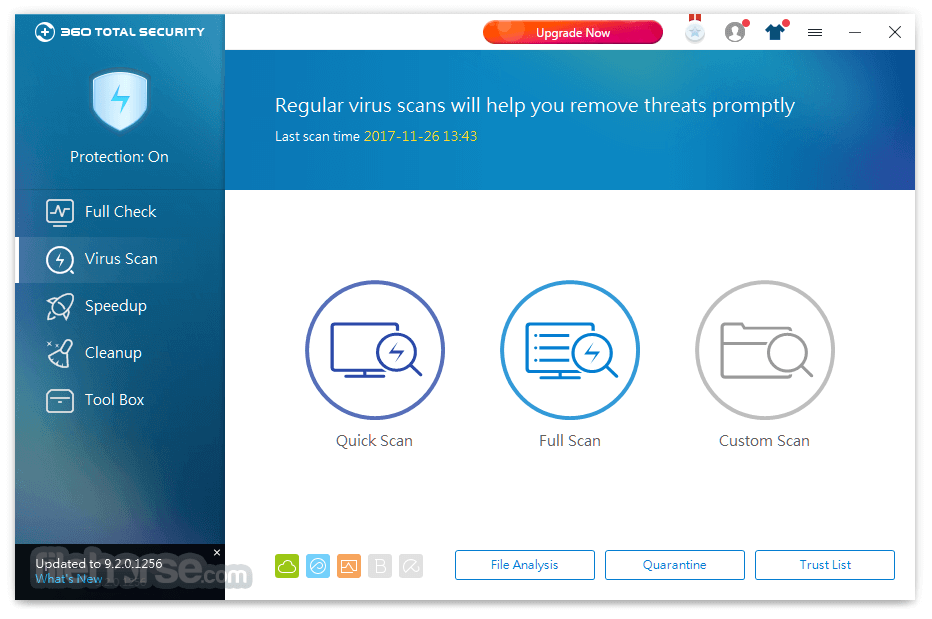 360 Total Security 9.2.0.1379 Screenshot 2