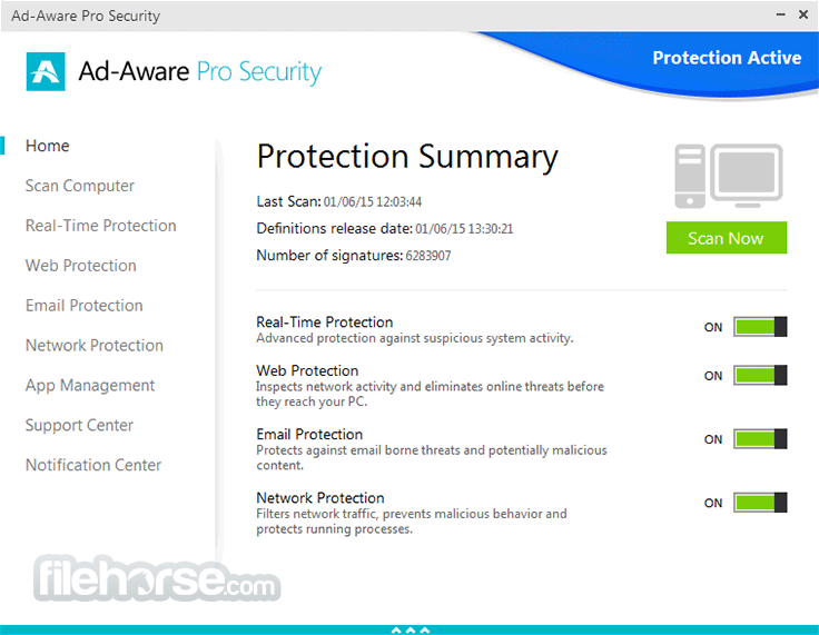 Ad-Aware Pro Security 12.2.889.11556 Screenshot 1
