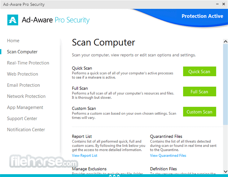 Ad-Aware Pro Security 12.2.889.11556 Screenshot 2