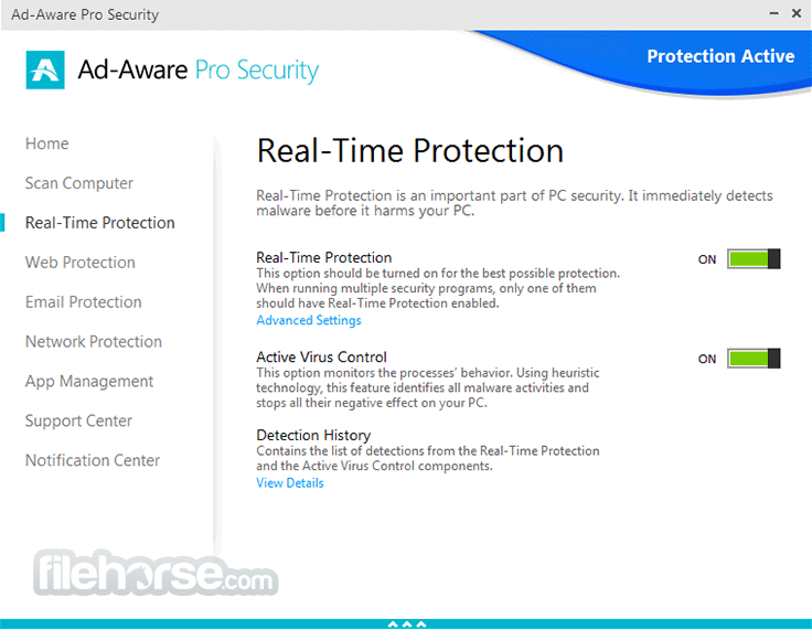 Ad-Aware Pro Security 12.2.889.11556 Screenshot 3