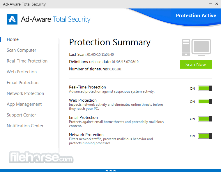Ad-Aware Total Security 12.2.889.11556 Screenshot 1