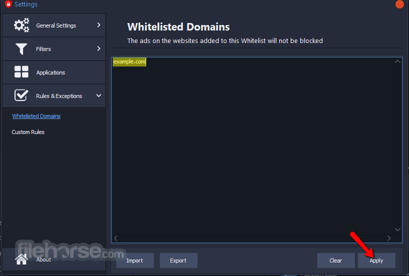 AdBlocker for Windows 3.21.0 Screenshot 3