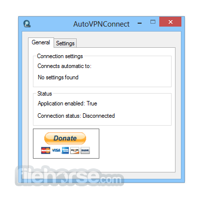 AutoVPNConnect 3.1 Screenshot 2