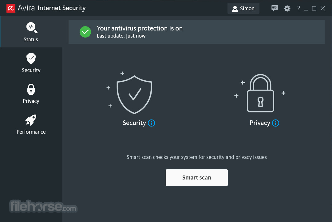 Avira Internet Security Suite 15.0.41.77 Captura de Pantalla 1