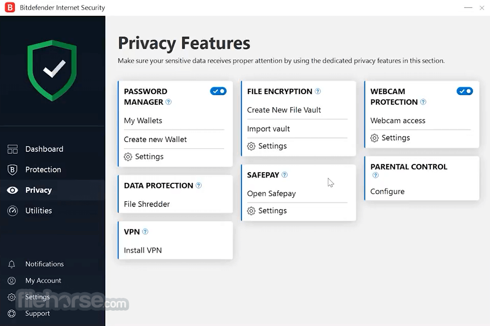 Bitdefender Internet Security 2019 Build 23.0.8.17 (64-bit) Screenshot 3