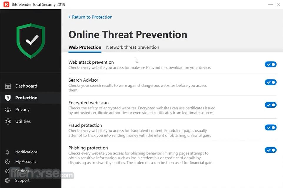 Bitdefender Total Security 2018 Build 22.0.17.205 (32-bit) Screenshot 4