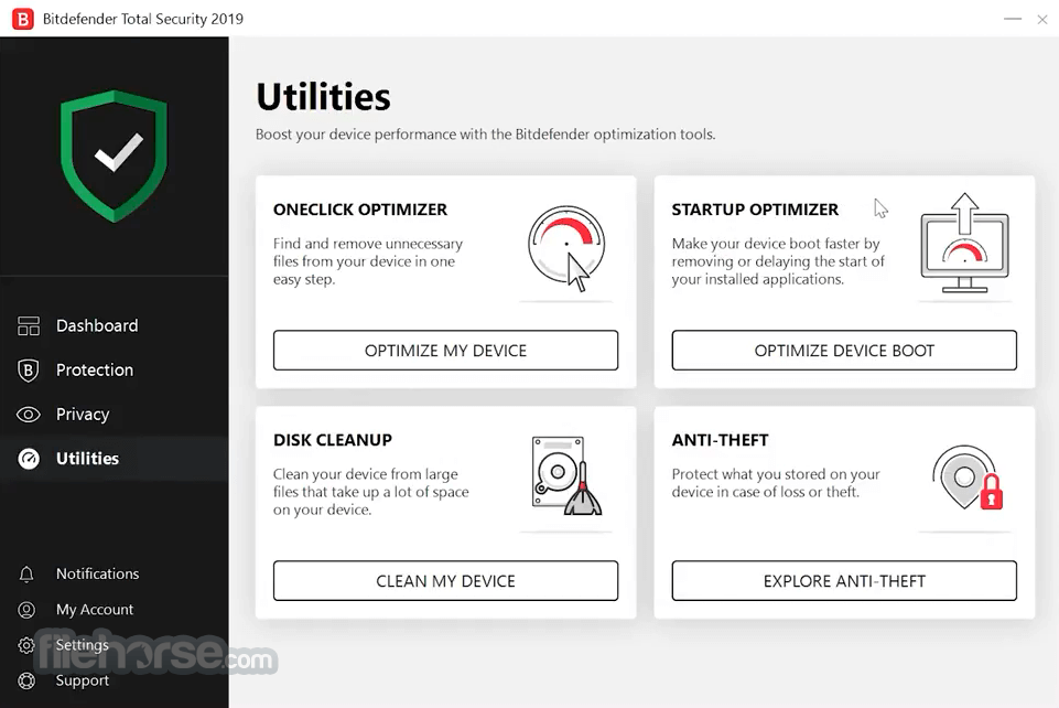 Bitdefender Total Security 2018 Build 22.0.19.242 (64-bit) Captura de Pantalla 5
