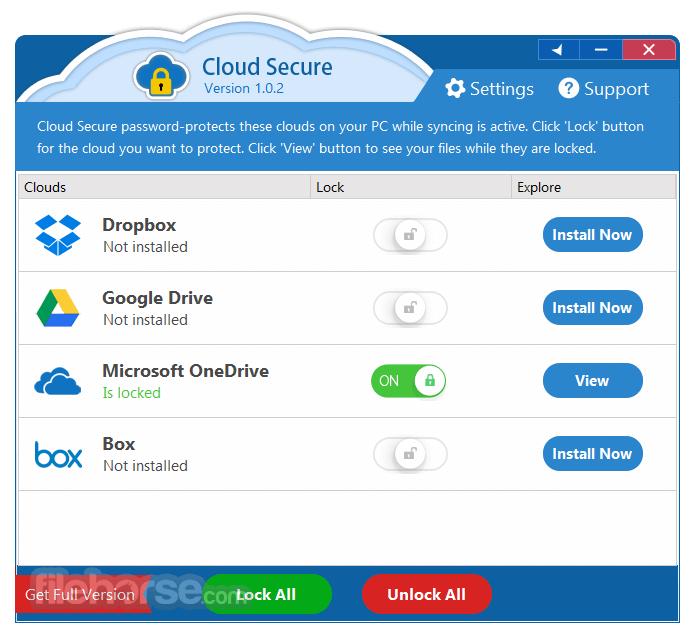 Cloud Secure 1.0.5 Screenshot 3