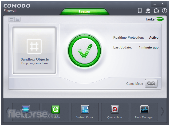 Comodo Firewall 10.1.0.6476 Screenshot 1
