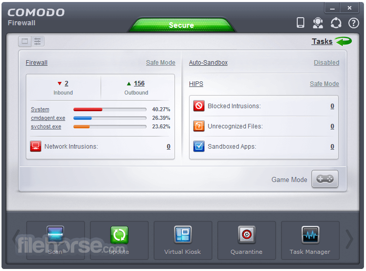 Comodo Firewall 10.1.0.6476 Screenshot 2
