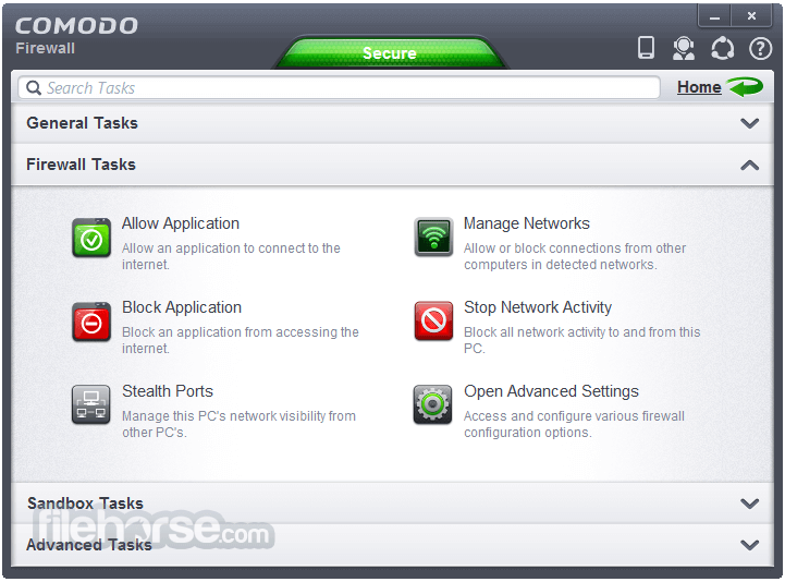 Comodo Firewall 10.1.0.6476 Screenshot 3