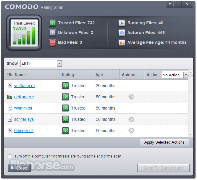 Comodo Firewall 10.1.0.6476 Screenshot 4