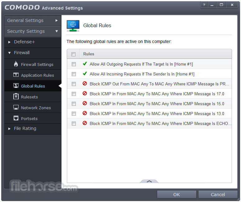Comodo Firewall 10.1.0.6476 Screenshot 5