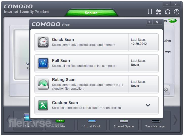 Comodo Internet Security 10.1.0.6476 Captura de Pantalla 3