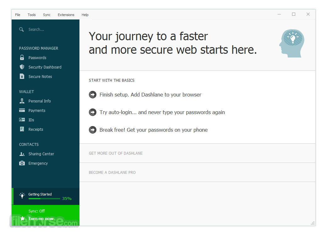 Dashlane 5.11.0 Screenshot 2