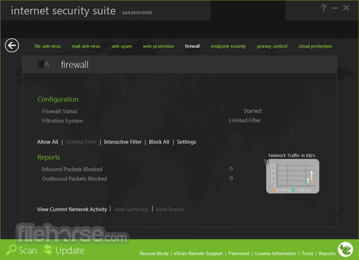 eScan Internet Security Suite 14.0.1400.2103 Screenshot 4