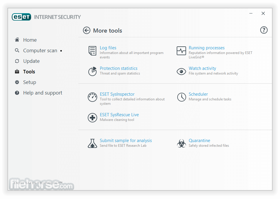 ESET Internet Security 11.0.159.0 (64-bit) Captura de Pantalla 3