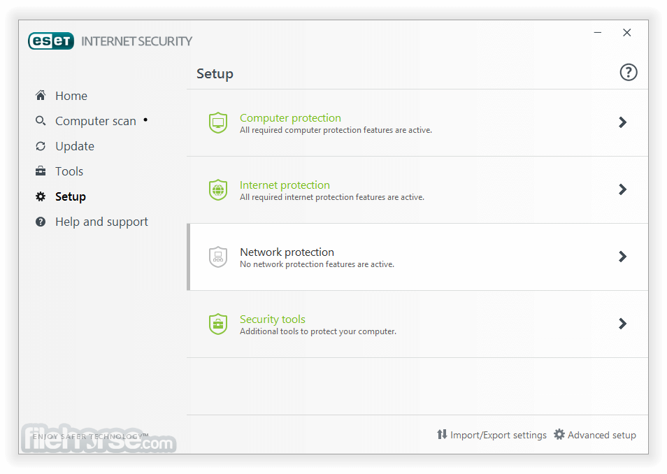 ESET Internet Security 11.0.159.0 (64-bit) Captura de Pantalla 4