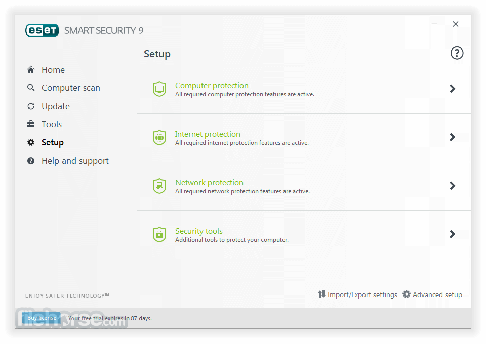ESET Smart Security 10.1.204.0 (64-bit) Screenshot 4