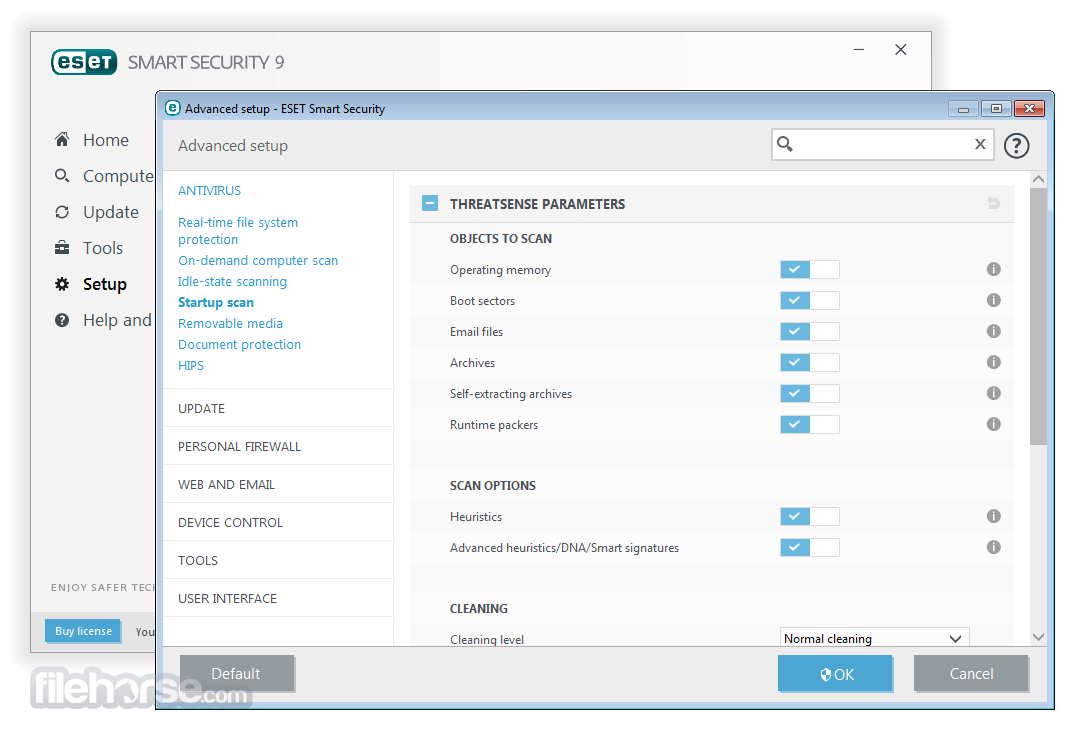 ESET Smart Security 10.1.204.0 (32-bit) Screenshot 5