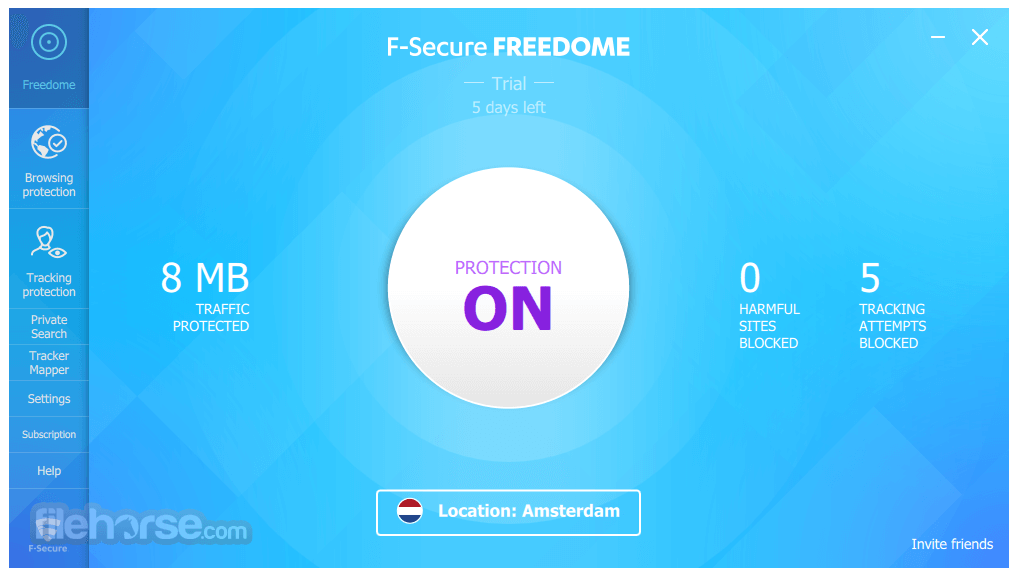 f secure freedome download for pc