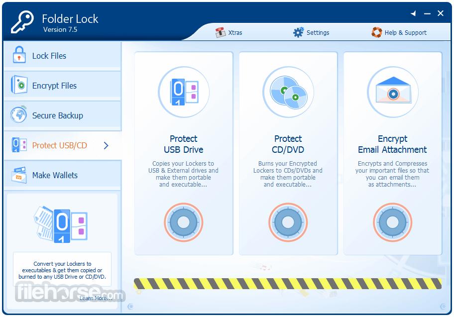 Folder Lock 7.7.2 Captura de Pantalla 4