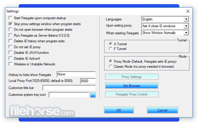 freegate 7.41 for pc